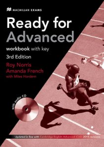 Ready For Adv 3Rd Edition Workbook W/Audio CD (W/Key)