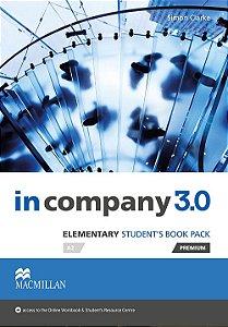 In Company 3.0 Student's Book Premium Pack-Elem.