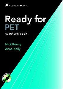 Ready For Pet New Edition Teacher's Book
