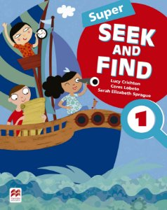 Super Seek And Find 1 Student's Book & Digital Pack