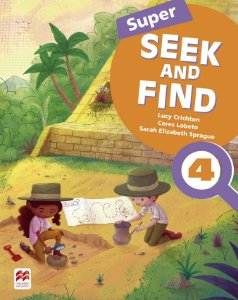 Super Seek And Find 4 Student's Book & Digital Pack