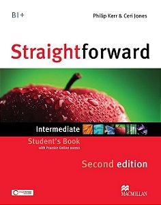Straightforward 2nd Edition Student's Book W/Webcode-Intermediate