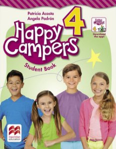 Happy Campers Student'S Book Pack With Skills Book-4
