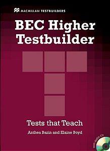 BEC Higher Testbuilder With Audio CD