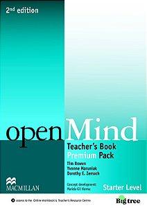 Openmind 2nd Edition Teacher's Book Premium Pack-Starter