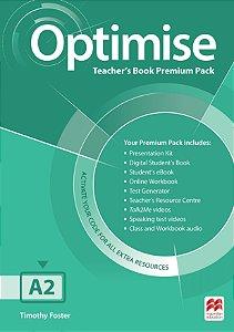 Optimise Teacher's Book Premium Pack A2
