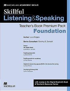 Skillful Listening & Speaking Teacher's Book Premium Pack - Foundation