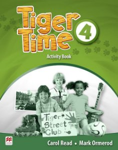 Tiger Time 4 - Activity Book