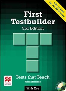 First Testbuilder - Student's Book Pack With Key
