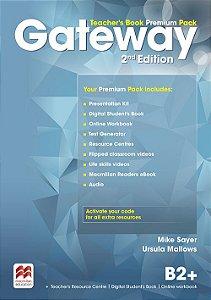 Gateway 2nd Edition B2+ Teacher's Book Premium Pack
