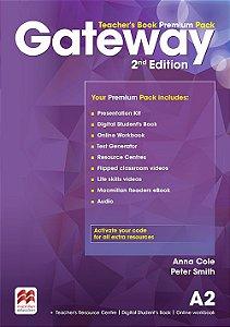 Gateway 2nd Edition A2 Teacher's Book Premium Pack