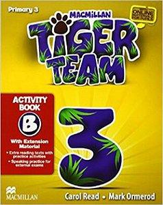 Tiger Team 3B - Activity Book With Progress Journal