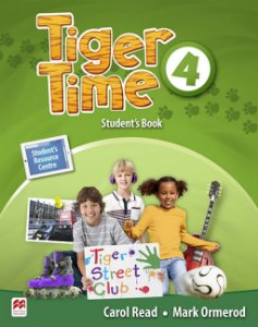 Tiger Time 4 - Student's Book With eBook Pack