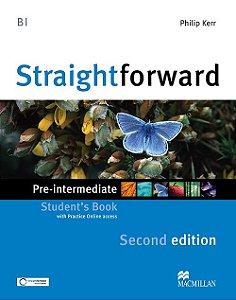 Straightforward 2nd Edition Student's Book W/Webcode - Pre-Intermediate