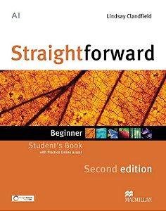 Straightforward 2nd Edition Student's Book W/Webcode - Beginner