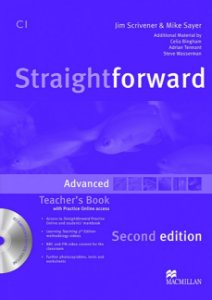 Straightforward 2nd Edition Teacher's Book W/Resource CD-Advanced