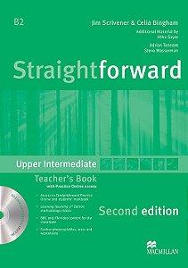 Straightforward 2nd Edition Teacher's Book W/Resource CD-Upper-Intermediate