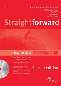 Straightforward 2nd Edition Teacher's Book W/Resource CD-Intermediate