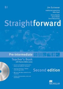 Straightforward 2nd Edition Teacher's Book W/Resource CD-Pre-In