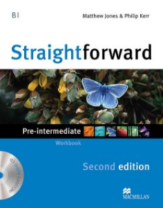 Straightforward 2nd Edition Workbook W/Audio CD-Pre-Intermediate (No/Key)