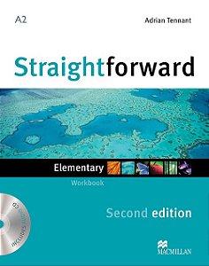 Straightforward 2nd Edition Workbook W/Audio CD-Elem. (No/Key)
