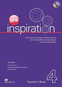New Inspiration Teacher's Book W/Test CD & Class Audio CD-4