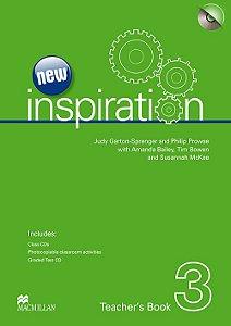 New Inspiration Teacher's Book W/Test CD & Class Audio CD-3