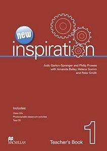New Inspiration Teacher's Book W/Test CD & Class Audio CD-1