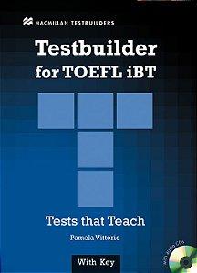 Testbuilder For Toefl Ibt With Audio CD (W/Key)
