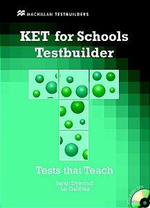 Ket For Schools Testbuilder With Audio CD (W/Key)