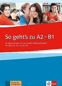 So Geht'S Zu, Übungsbuch + CDs - A2-B1