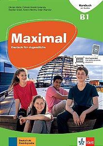 Maximal, Kursbuch Mit CD-Rom - B1