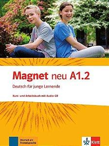 Magnet Neu, Kurs-/Arbeitsbuch + CD - A1.2