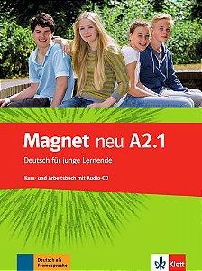 Magnet Neu, Kurs-/Arbeitsbuch + CD - A2.1