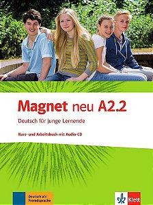 Magnet Neu, Kurs-/Arbeitsbuch + CD - A2.2