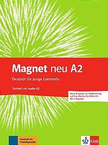 Magnet Neu, Testheft + CD (Goethe-Zert. Fit In Deutsch) - A2