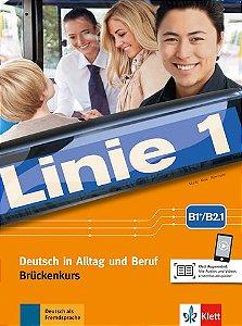 Linie 1, Kurs- Und Übungsbuch Brückenkurs - B2.1