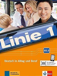 Linie 1, Kurs- Und Übungsbuch - B2.2