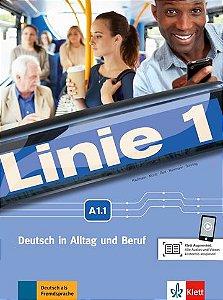 Linie 1, Kurs-/Übungsbuch Mit MP3 - A1.1