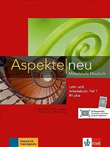 Aspekte Neu Lehr-Und Arbeitsbuch, Teil 1 - B1 Plus