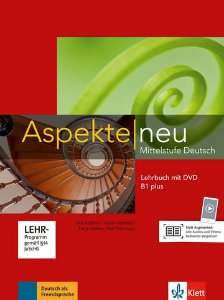 Aspekte Neu Lehrbuch + DVD - B1 Plus