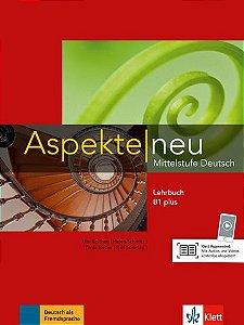 Aspekte Neu Lehrbuch Ohne + DVD - B1