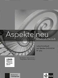 Aspekte Neu Lehrerhandbuch + Medien DVD Rom - B1