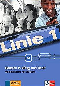 Linie 1, Vokabeltrainer Mit CD-Rom - A1