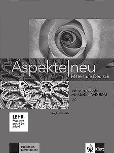 Aspekte Neu Lehrerhandbuch + Medien DVD Rom - B2
