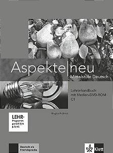 Aspekte Neu Lehrerhandbuch + Medien DVD Rom - C1