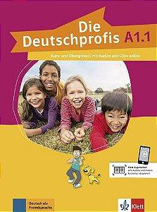 Die Deutschprofis, Kurs- Und Übungsbuch + Audios Und Clips Online - A1.1
