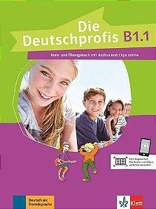 Die Deutschprofis, Kurs- Und Übungsbuch + Audios Und Clips Online - B1.1