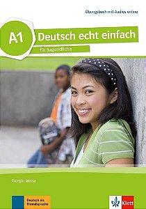 Deutsch Echt Einfach, Übungsbuch + MP3 Online - A1
