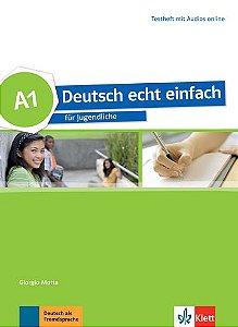 Deutsch Echt Einfach, Testheft Mit Audios Online - A1